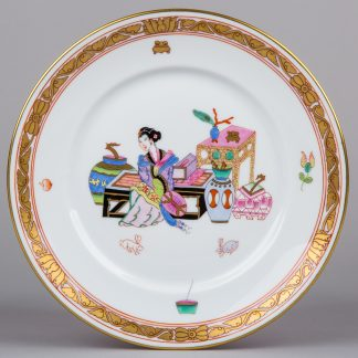 "Herend MING Pattern 7.3"" Dessert Plate Jubilee Edition"