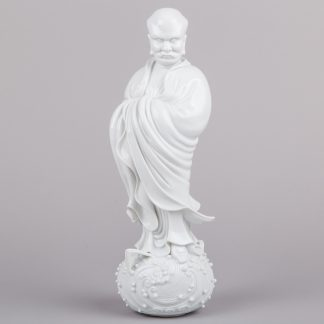 Herend Tamo Bodhidharma Figurine from Blanc de Chine Series, Limited