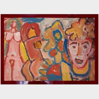 MIKLOS NEMETH | Composition with Figures