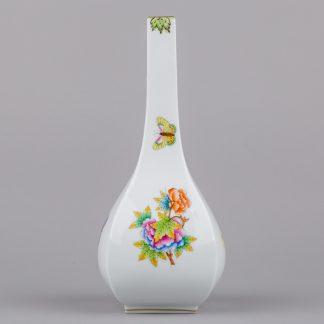 Herend Queen Victoria Angular Vase #7081/VBO
