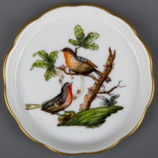 Herend Rothschild Bird Coaster #7562/RO