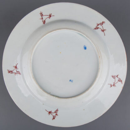 Antique Herend Cubash Pattern Plate from Moritz Fischer Period 1873
