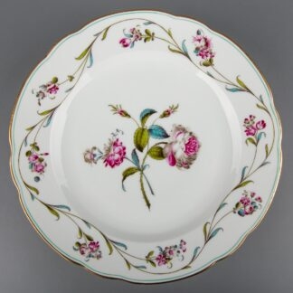 Herend Antique Floral Pattern Dinner Plate from 1910 III.