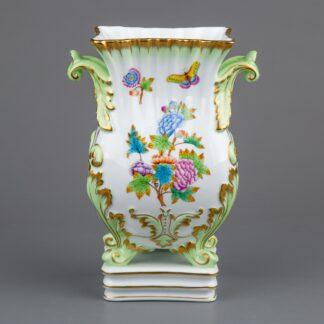 Herend Queen Victoria Baroque Vase with Handles #6612/VBO I.