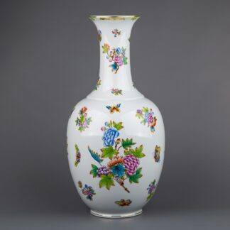 Herend Queen Victoria XLarge Vase #7121/VBO