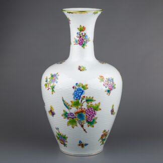 Herend Queen Victoria XXLarge Vase #6987/VBO