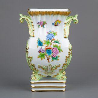 Herend Queen Victoria Baroque Vase with Handles #6612/VBO II.