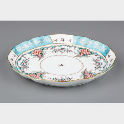 Herend Cornucopia Tupini (TCA) Pattern Oval Serving Bowl #1221/TCA