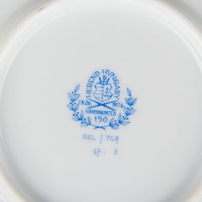 Herend Cornucopia Tupini (TCA) Pattern XLarge Round Serving Platter #1152/TCA