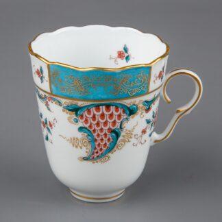 Herend Cornucopia Tupini (TCA) Pattern Chocolate Cup #713/TCA