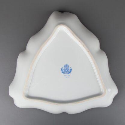 Herend Cornucopia Tupini (TCA) Pattern Triangle Dish #1191/TCA